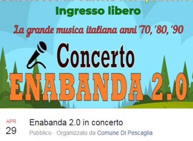 Concerto Enabanda 2.0, a  San Rocco in Turrite