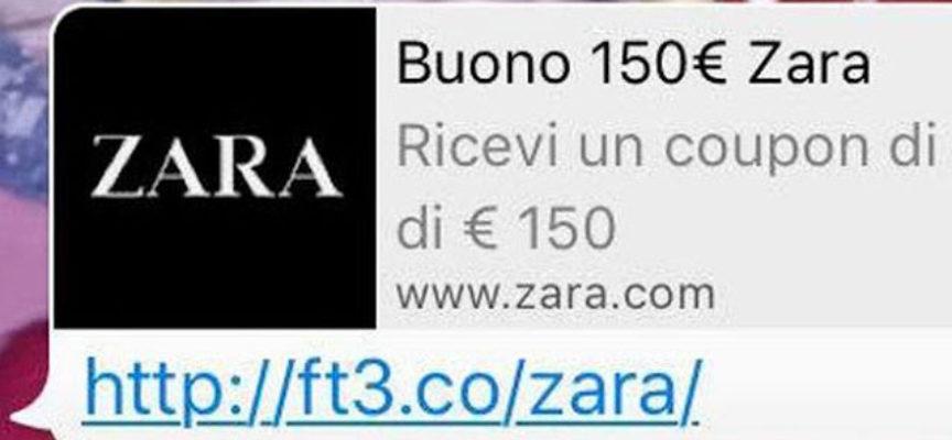 L'esplosione delle truffe online per falsi buoni Decathlon e Zara