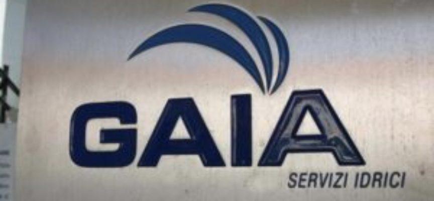 Lavori di Gaia sull'acquedotto a Bagni di Lucca  –   giovedì 14 marzo..