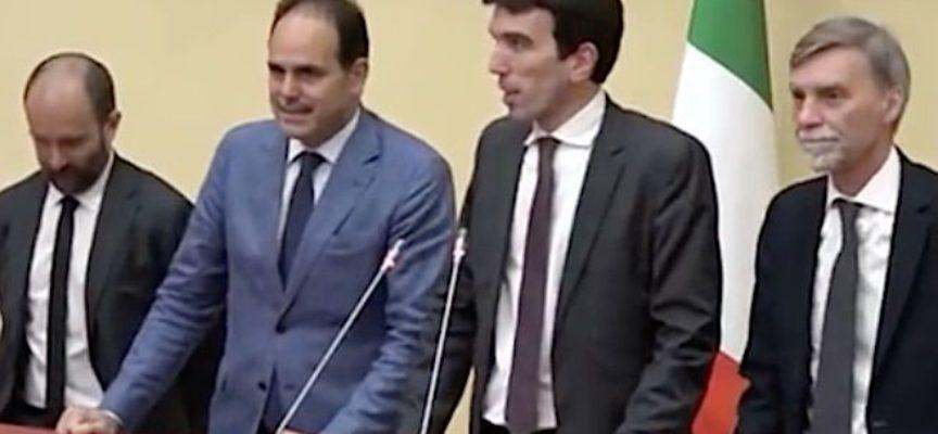 """Maurizio Martina dopo il secondo incontro con Fico: """"Riconosciamo passi avanti importanti. Direzione il 3 maggio"""""""