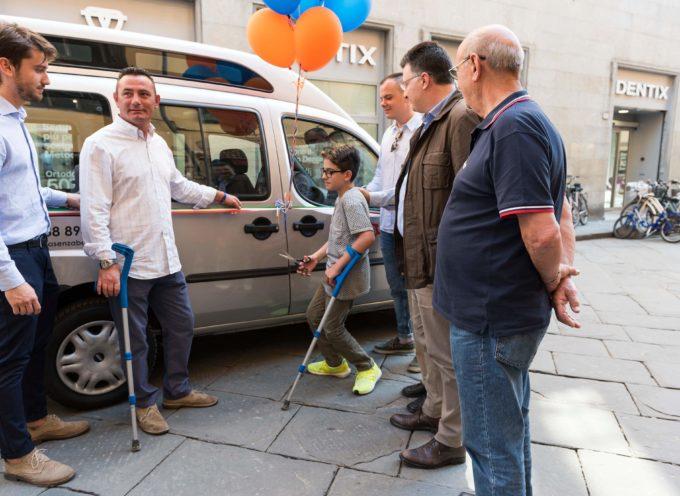 """Luccasenzabarriere, un Fiat Doblò per """"Ti accompagniamo noi"""""""
