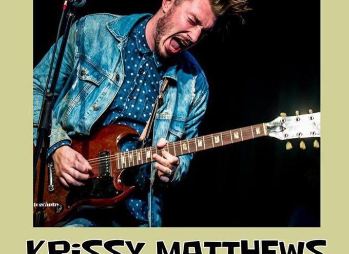 Krissy Matthews sul palco del Lucca Blues Festival