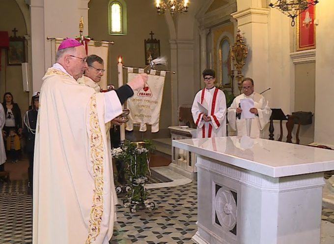 Paganico in festa per il nuovo altare