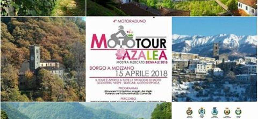 MOTOTOUR 2018 AZALEA,  A BORGO A MOZZANO