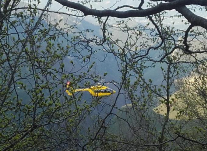 Soccorso Alpino • intervento del Sast sul Monte Pisanino e Monte Forato