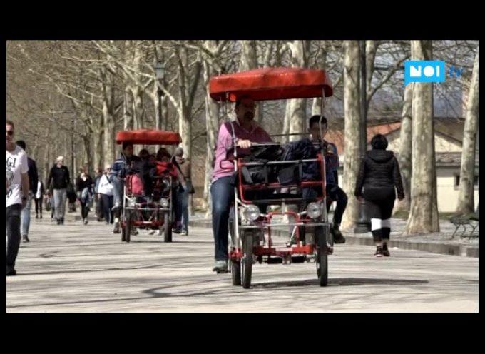Lucca e Garfagnana, tanti turisti per la gita del Lunedì dell'Angelo[video]