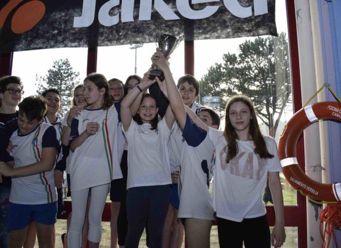 300 atleti per il 3° TROFEO CAMPUS MAIOR  Vince Azzurra Nuoto Prato