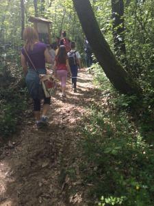 una precedente escursione di eco-guide