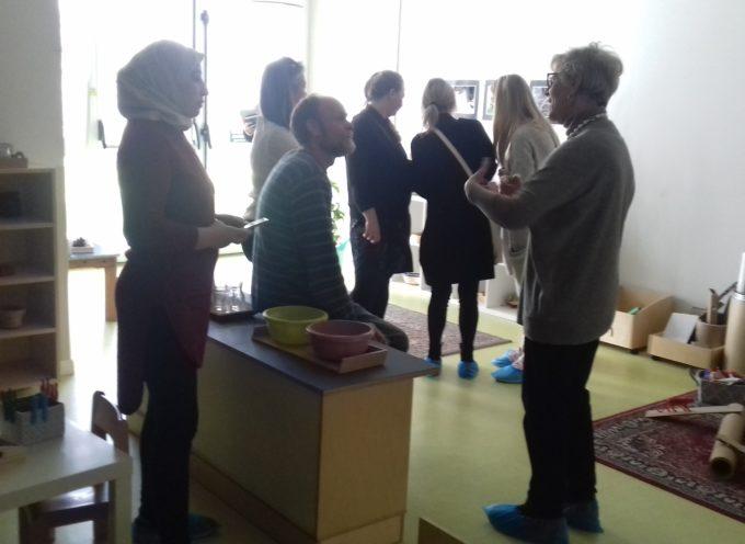 Una delegazione danese in visita ai servizi educativi del Comune di Lucca dedicati alla prima infanzia