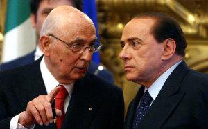 10 maggio Berlusconi Napolitano