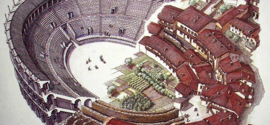 LUK, LUCAE, LUCCA, TRA STORIA E LEGGENDA   l'anfiteatro romano