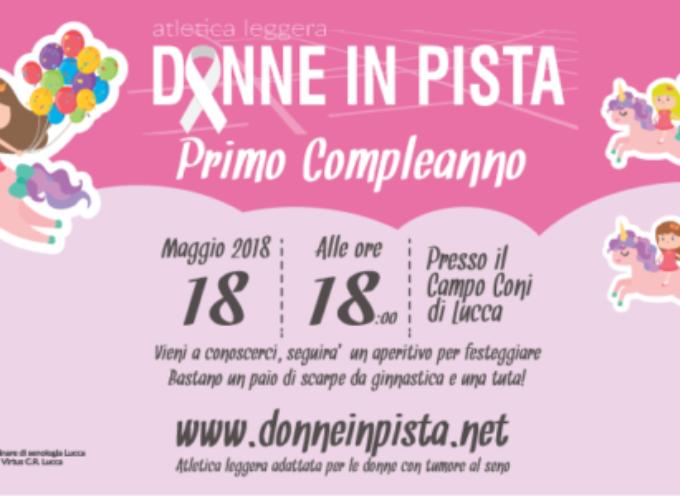 """Lucca: si festeggia il compleanno di """"Donne in pista"""""""