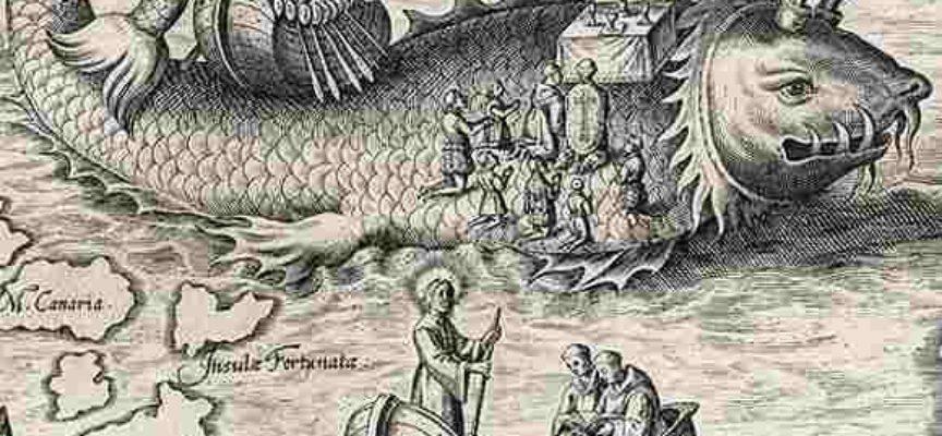 Il Santo del giorno,16 Maggio: S. Brandano, il navigatore che forse giunse in America! O almeno all'Isola dei beati!