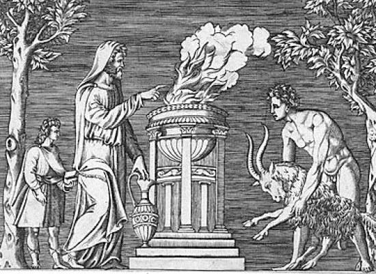 Nell'Antica Roma, 21 Maggio: Feste di Agonalia, in onore di Veiove