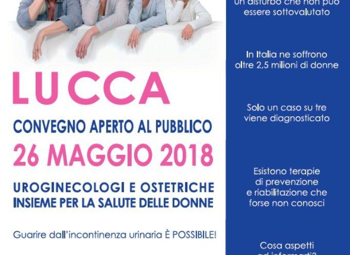 Congresso nazionale di Urologia Ginecologica: sabato 26 maggio incontro pubblico sulla salute della donna al Real Collegio di Lucca