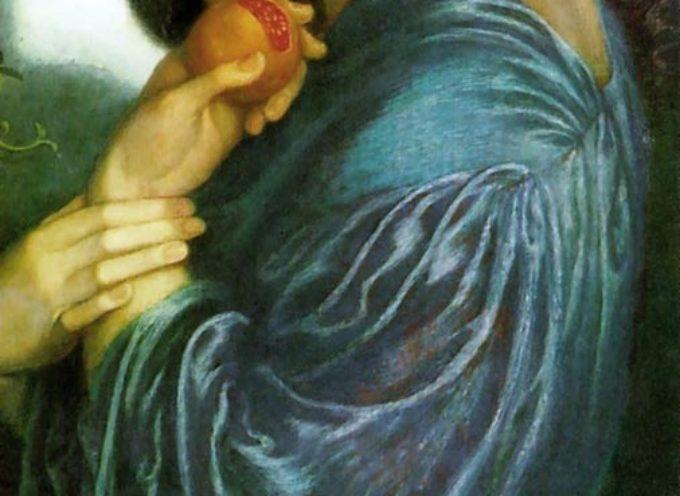 """Nell'Antica Roma, 26 Maggio: Ludi a Proserpina, colei che """"emerge"""" come il grano, ma che, come il seme, poi, dovrà sprofondare di nuovo nella terra"""