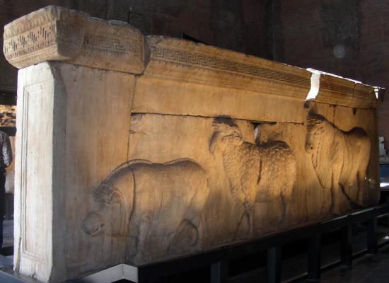 Nell'Antica Roma, p.d. XIII, XV et XVI Idus Maias (27, 29 e 30 maggio): Ambarvalia