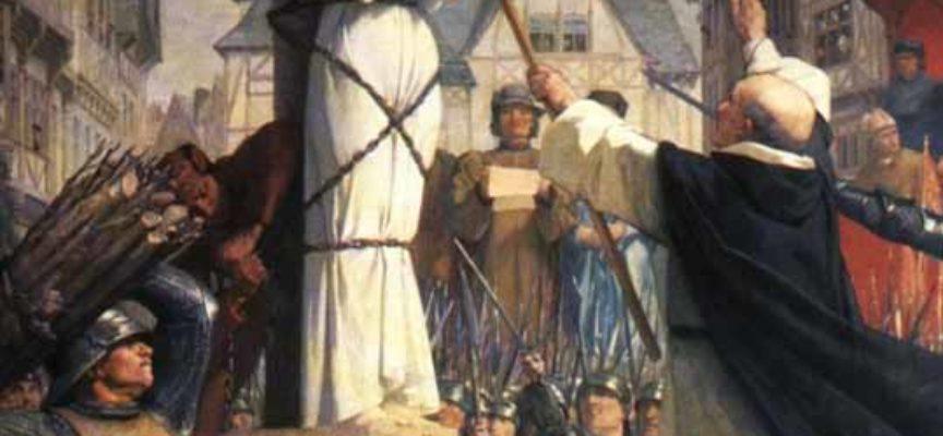 Accadde oggi, 30 Maggio: 1431, il rogo infame di Giovanna d'Arco!
