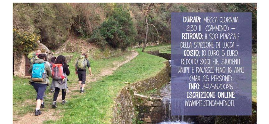 A piedi da Lucca a Vorno lungo la Via degli Acquedotti
