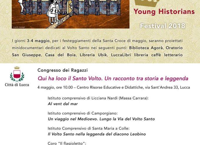 Parte il primo festival di storia dedicato ai ragazzi in occasione della festività di Santa Croce di Maggio: