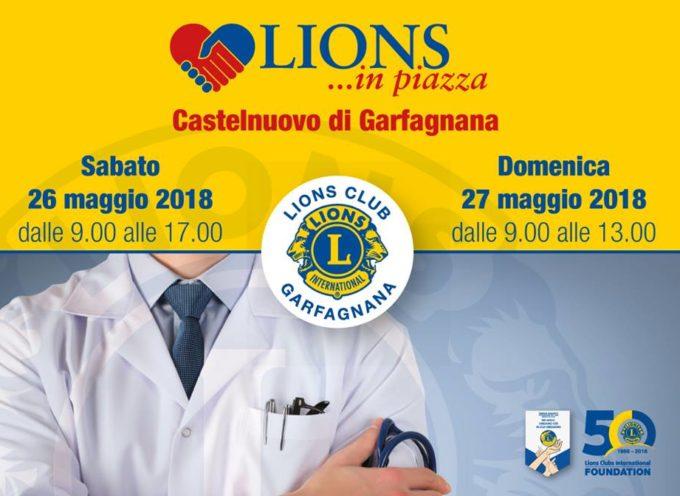 Lions in Piazza per la prevenzione sanitaria!