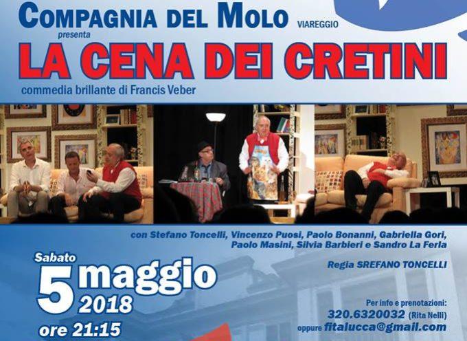 """al Teatro Comunale """"Idelfonso Nieri"""" di Ponte a Moriano, imperdibile, esilarante commedia brillante di Francis Veber,"""