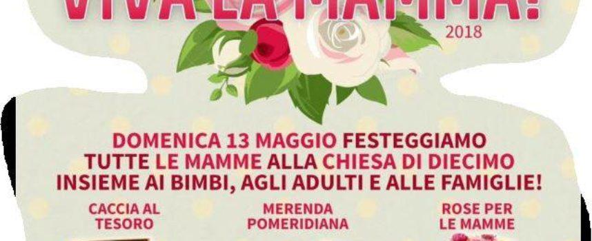 si festeggia la  Mamma, a  Diecimo, di  Borgo a Mozzano