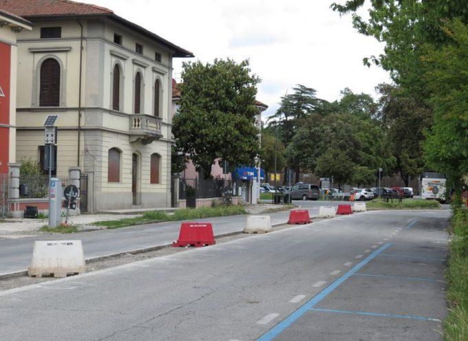 Nuova rotatoria di piazzale Boccherini: via Pascoli chiusa fino a venerdì 18 maggio
