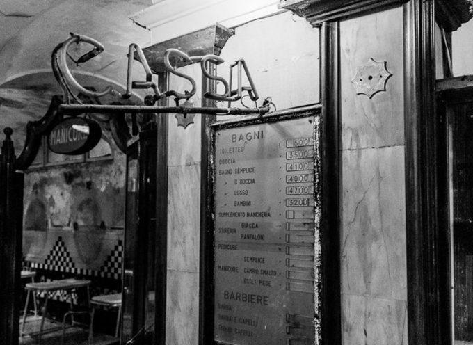 Il Diurno. Quando arrivavi nelle stazioni grandi c'erano i diurni, dove potervi farti il bagno o la doccia,