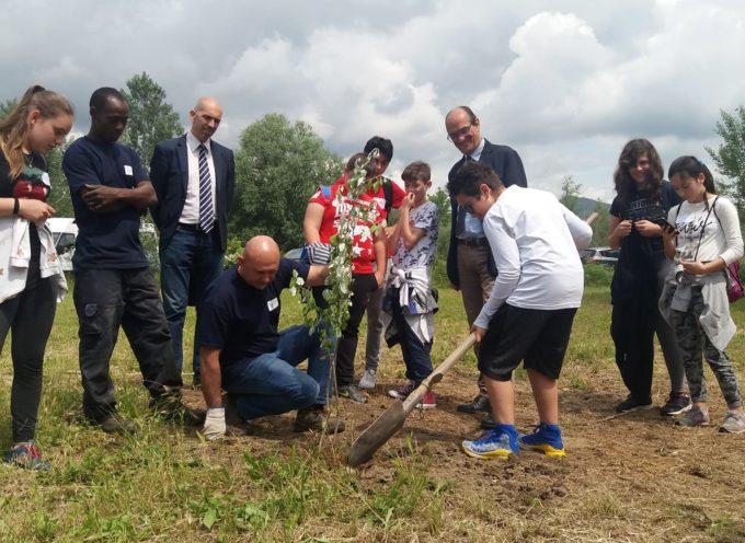 Stamani eravamo di nuovo coi ragazzi delle scuole che hanno partecipato al nostro progetto di educazione ambientale.