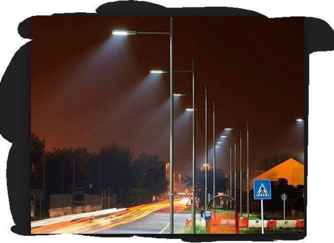 Progetto di illuminazione pubblica a Led.. A  Borgo a Mozzano