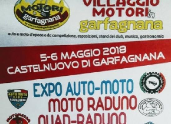 VILLAGGIO MOTORI 2018, sabato e domenica a Castelnuovo di g