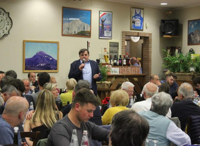 Elezioni: a cena con Giovannetti, appuntamento al Grappolo d'Oro