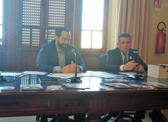 Il Vicepresidente del Parlamento Europeo, Fabio Massimo Castaldo M5S, a Pietrasanta.