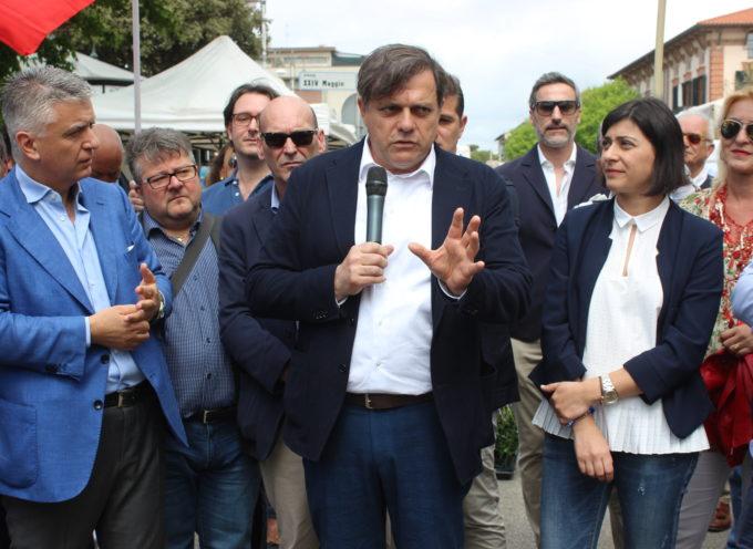 Elezioni: dall'ampliamento del parcheggio in Piazza Perich a Cava Fornace, Giovannetti a Strettoia.