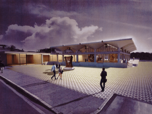 Foto rendering Museo Mitoraj