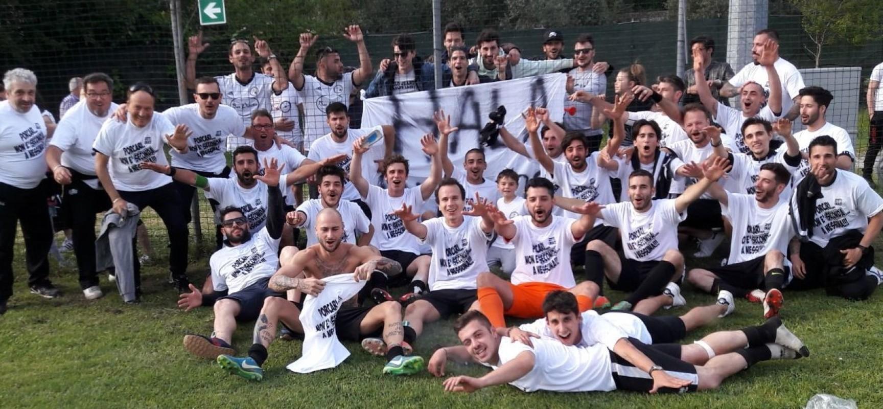 L'Academy Porcari punta a fare bene anche in seconda categoria e conferma Fabrizio Salvadori sulla panchina e Andrea Monaci ds