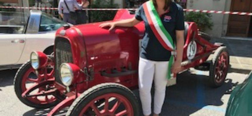 WW LE MILLE MIGLIA  SONO ARRIVATE  RICEVUTE DALLA SINDACHESSA  SARA D'AMBROSIO