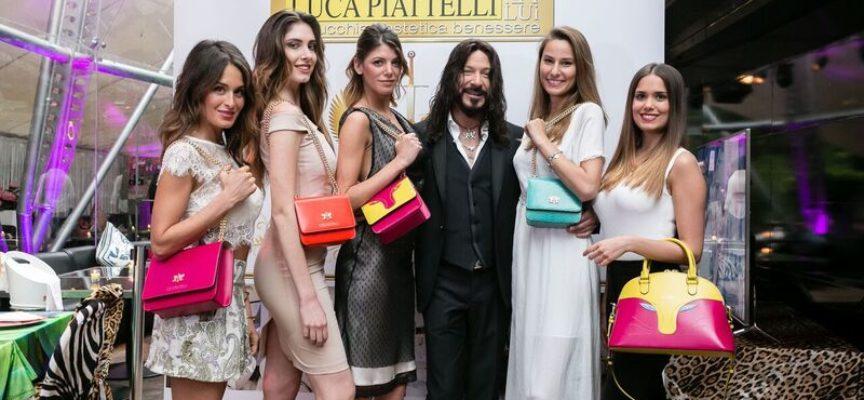 Grande successo per lo stilista  Luca Piattelli a Milano :