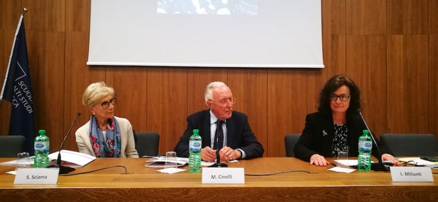 SILVANA SCIARRA INAUGURA IL CORSO DI ALTA FORMAZIONE DELLA FONDAZIONE PERA