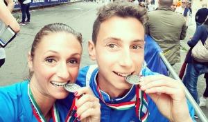 Simona Carradossi e Michael Luongo Lucca half marathon 2018