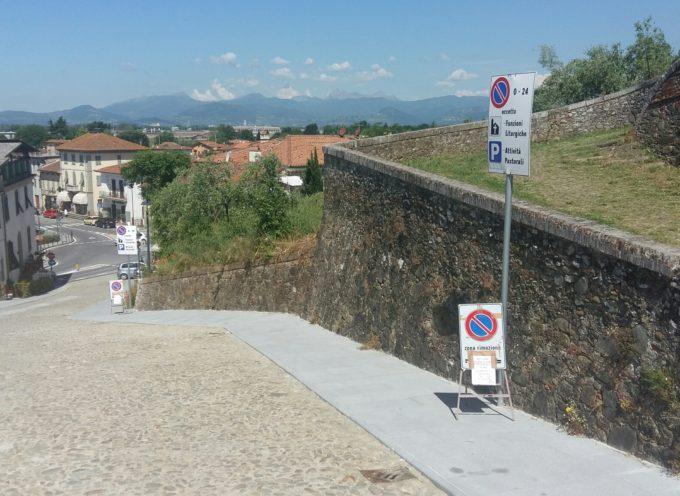Entra in vigore l'ordinanza della Municipale che regolamenta viabilità e sosta sulla Ruga