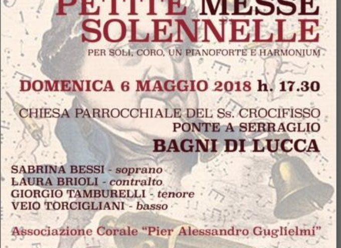 Concerto in memoria di Gioachino Rossini, A Ponte a Serraglio,