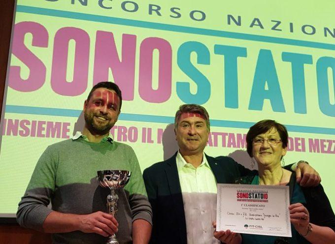 """CONCORSO FIT CISL """"SONO STATO IO"""" : VINCE LA PRIMARIA  """"GIORGIO LA PIRA"""" DI PORCARI"""