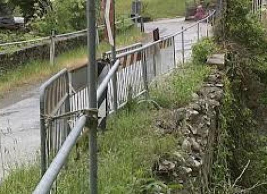 Su quel piccolo e vecchio ponte per la Garfagnana