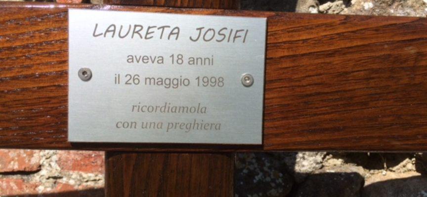 A Marlia a 20 anni esatti (26 maggio) si ricorda il femminicidio di Laureta Josifi