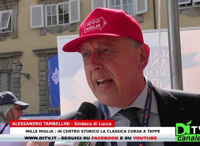 Mille Miglia: In centro storico a Lucca la classica corsa a tappe – Intervista al sindaco Tambellini