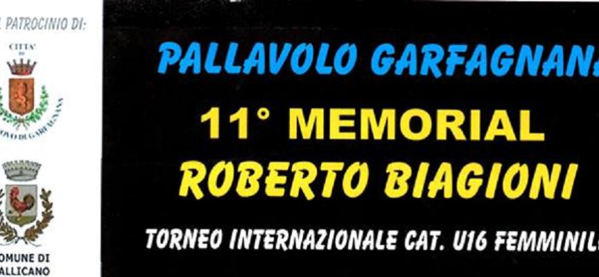 XI Memorial Roberto Biagioni