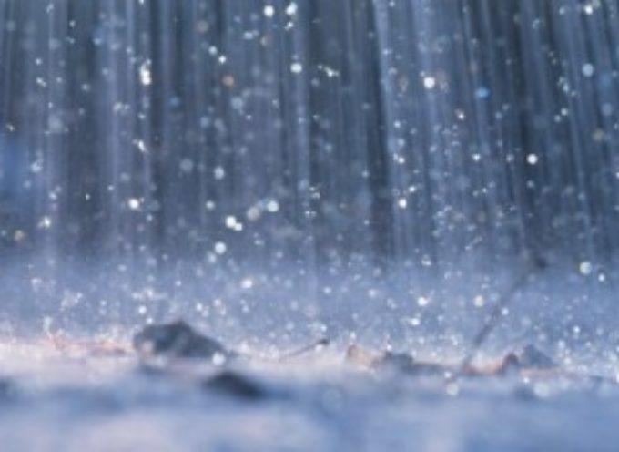 Pioggia e temporali, codice giallo fino alle 22.00 di oggi