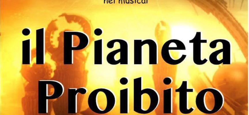 """Al Teatro Nieri di Ponte a Moriano musical """"Il pianeta proibito"""" con i bambini del doposcuola di Monsagrati"""